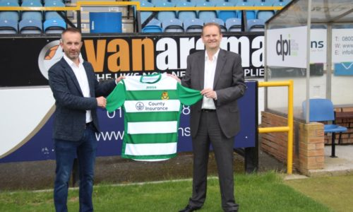 County Insurance Continue Shirt Sponsorship Deal