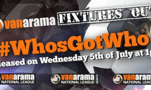 Fixtures Released Today