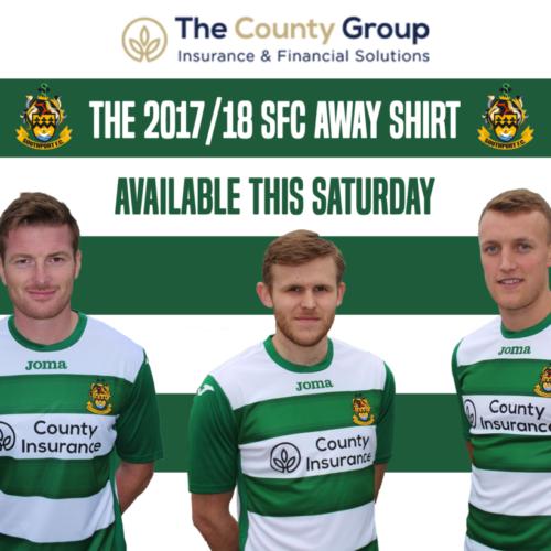 New 2017/18 Away Kit Revealed