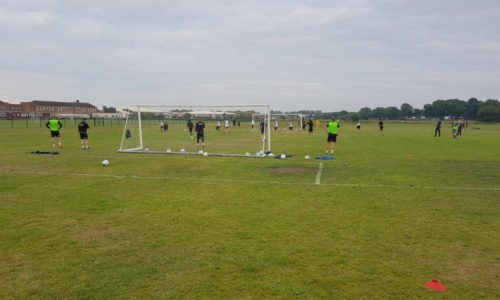 Squad In Final Training Session On Thursday Before Bootle