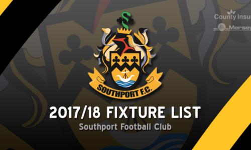 2017/18 Fixtures