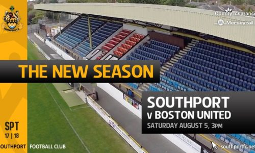 THE NEW SEASON   Southport v Boston United