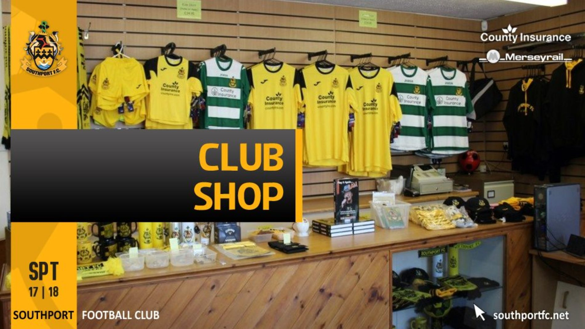 Club Shop Opening Hours