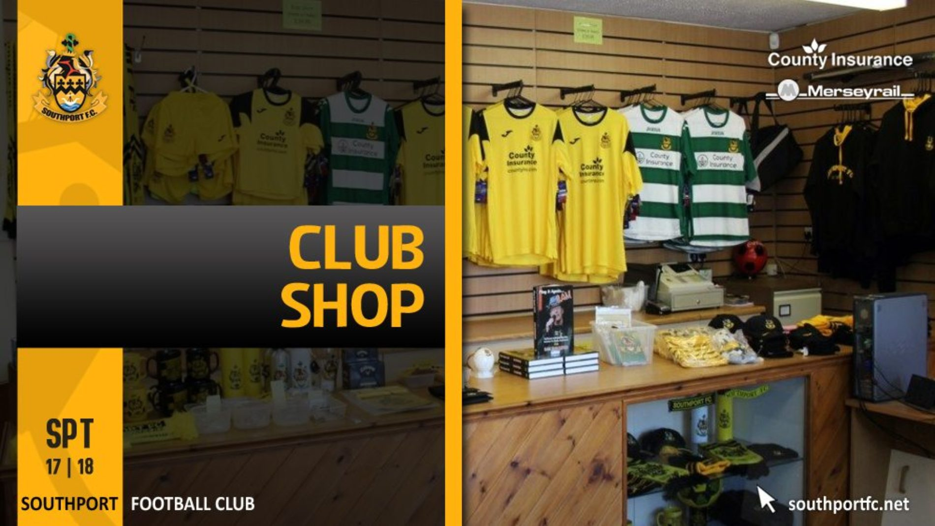 Refurbished Club Shop Opens Next Week