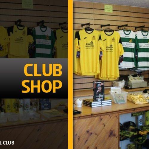 Club Shop & Programme