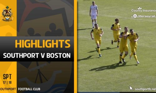 VIDEO | Southport V Boston Highlights