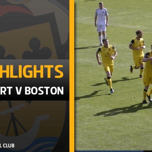 VIDEO | Southport V Boston Highlights