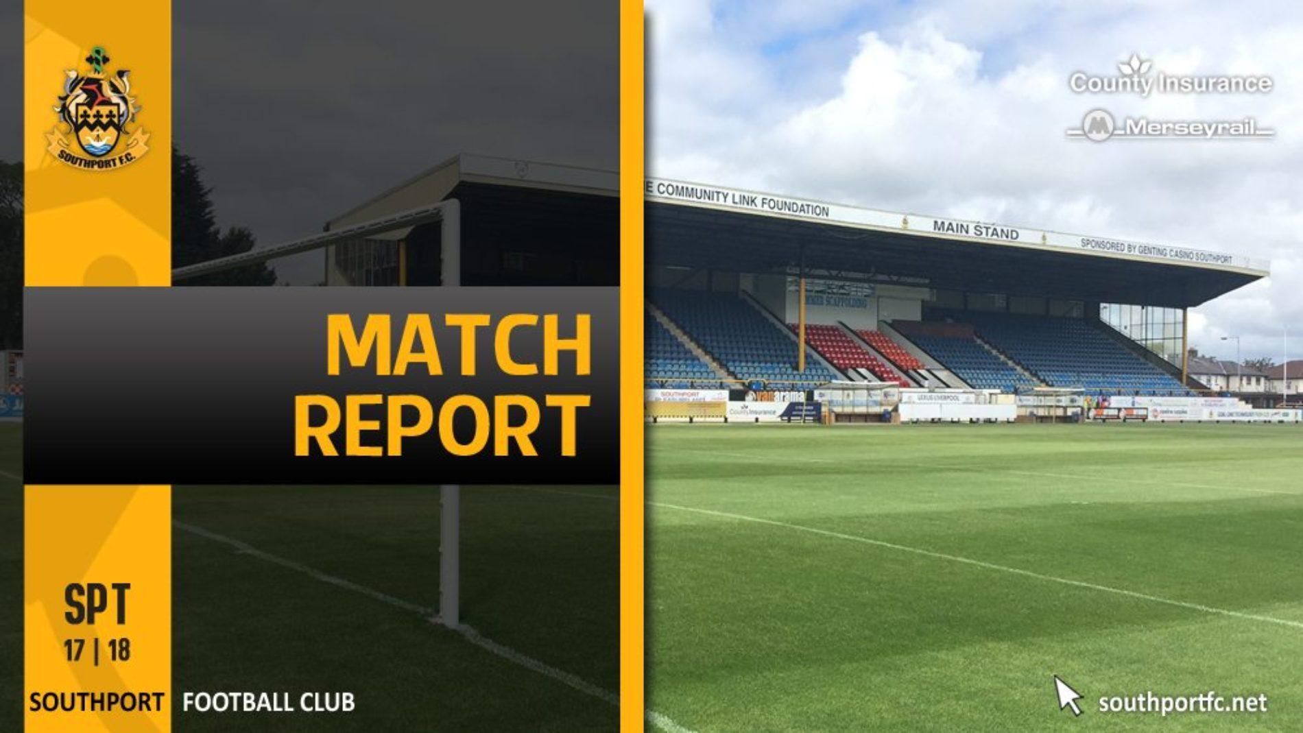 MATCH REPORT | Nuneaton Town 3 – 0 Southport