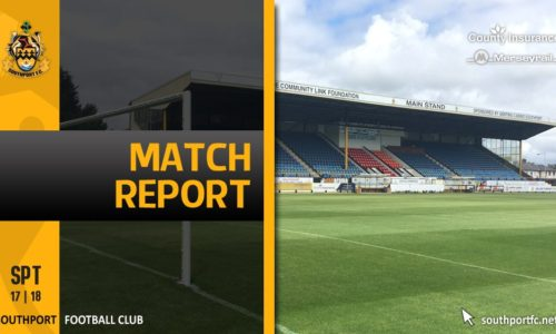 MATCH REPORT | Southport 3 – 0 Telford United