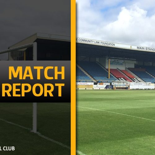 MATCH REPORT | Spennymoor Town 2 – 1 Southport
