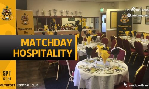 Last Corporate Table Available For Saturday's North Ferriby Game