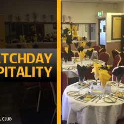 Last Two Hospitality Tables Available For York