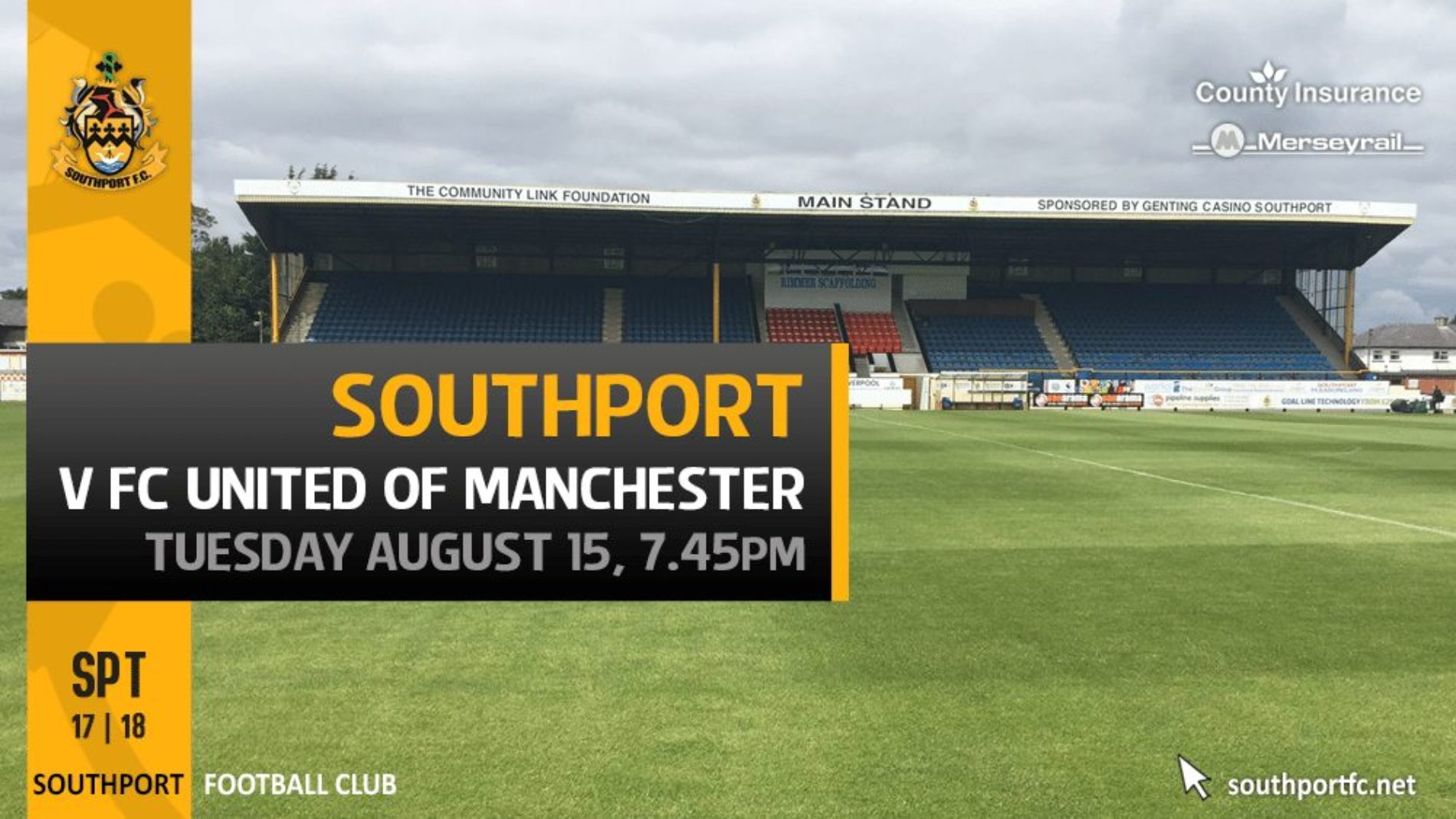 Southport Host FCUM ON Tuesday In Search Of Fourth Win