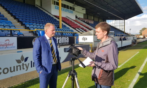 VIDEO   Interview with Phil Hodgkinson and Alan Lewer