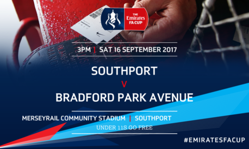 MATCH PREVIEW | Southport v Bradford Park Avenue – Emirates FA Cup