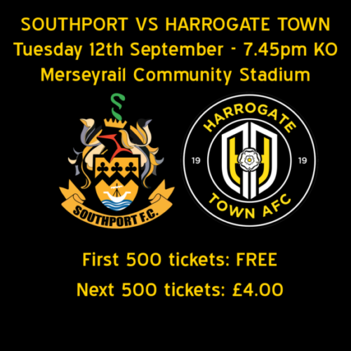 1000 Free Or Discounted Harrogate Match Tickets Available