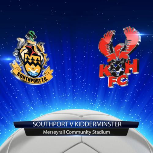 HIGHLIGHTS | Southport 0-3 Kidderminster Harriers