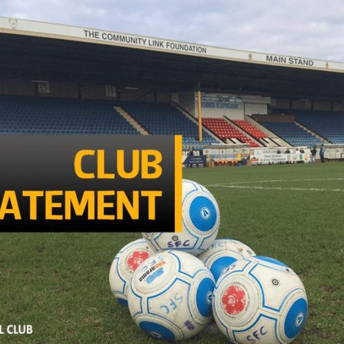 STATEMENT | Southport Football Club And Kevin Davies Part Company