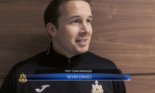 INTERVIEW | Kevin Davies After Edge Hill Training