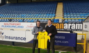 Jason Gilchrist Joins Southport