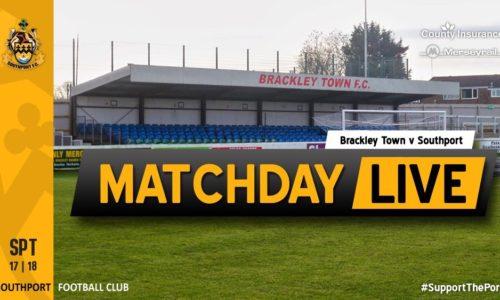 MATCHDAY LIVE | Brackley Town V Southport