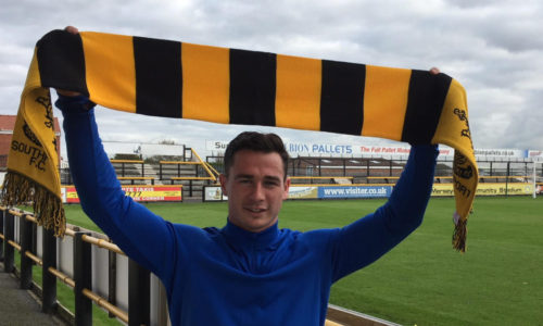 Josh Hine Signs From Warrington Town