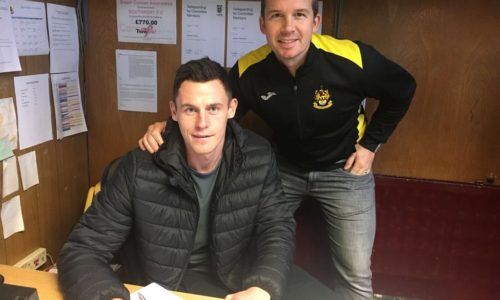 Port Sign Priestley From Alfreton Town