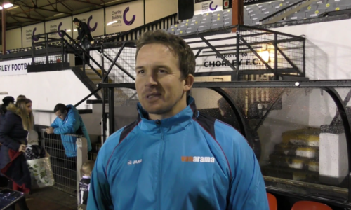 INTERVIEW   Kevin Davies After Chorley Draw