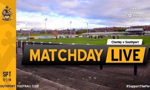 MATCHDAY LIVE | Chorley v Southport