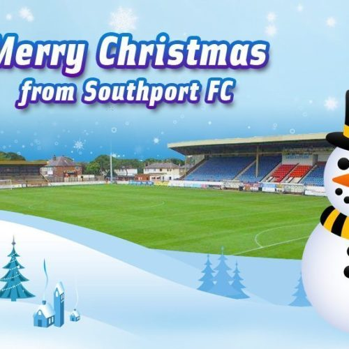 Merry Christmas From Southport FC
