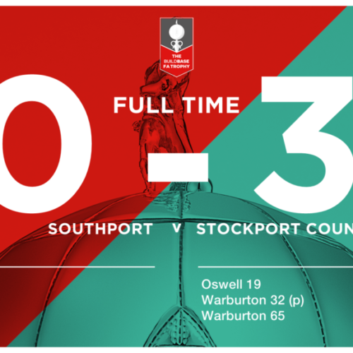 MATCH REPORT | Southport 0 – 3 Stockport County – Buildbase FA Trophy