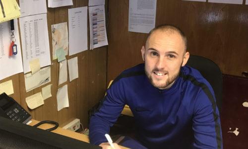 Adam Dawson Joins First Team Squad