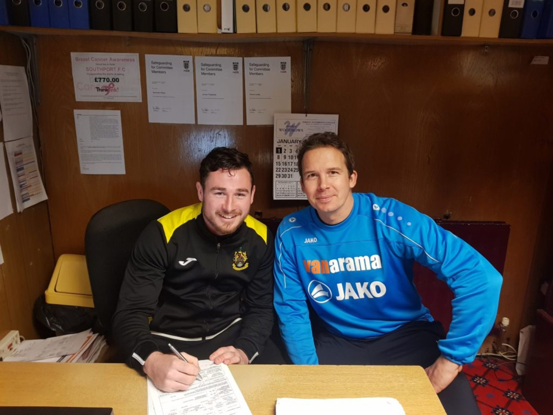 Josh Hine Signs Contract Extension