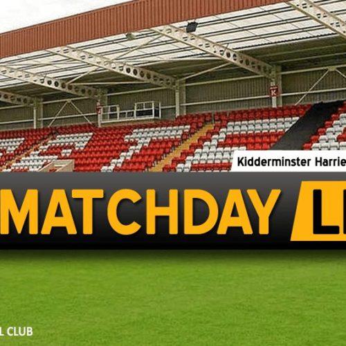 MATCHDAY LIVE | Kidderminster V Southport
