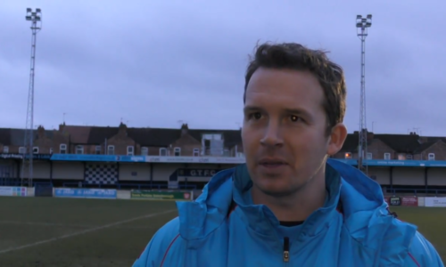 Interview   Kevin Davies After 3-0 Gainsborough Win