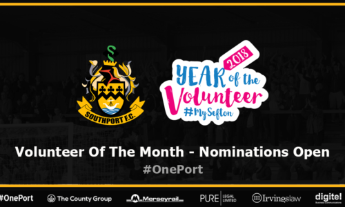 Nominations Open For Volunteer Of The Month