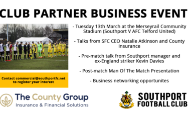 SFC To Hold Business Partners Event On Tuesday 13th March