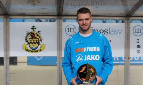 Jason Gilchrist Wins League's Player Of The Month Award