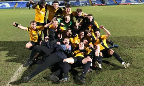 Southport U21s Win Premier Division Cup