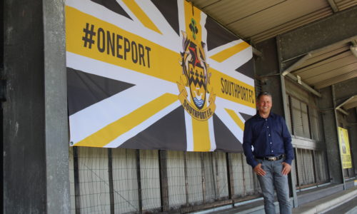 IN PICTURES | Liam Watson Returns To The Merseyrail Community Stadium