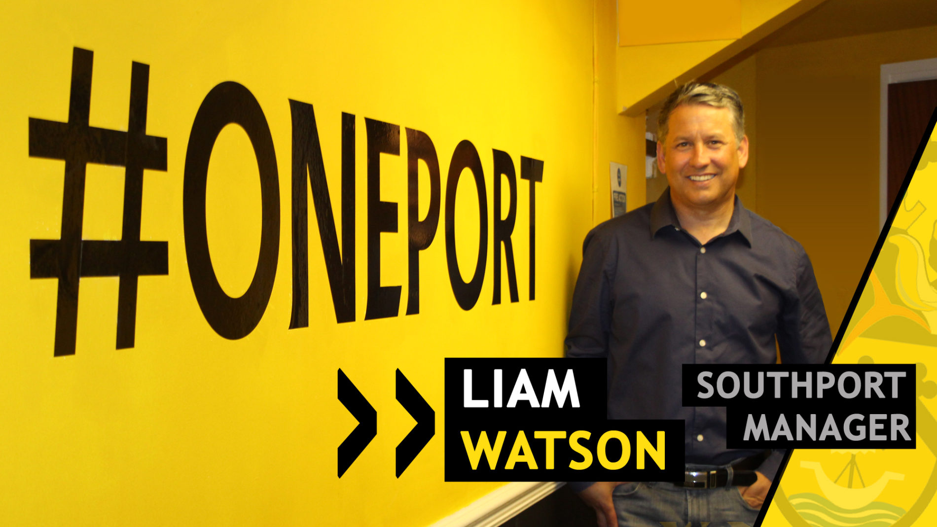 Liam Watson Returns As Southport FC Manager