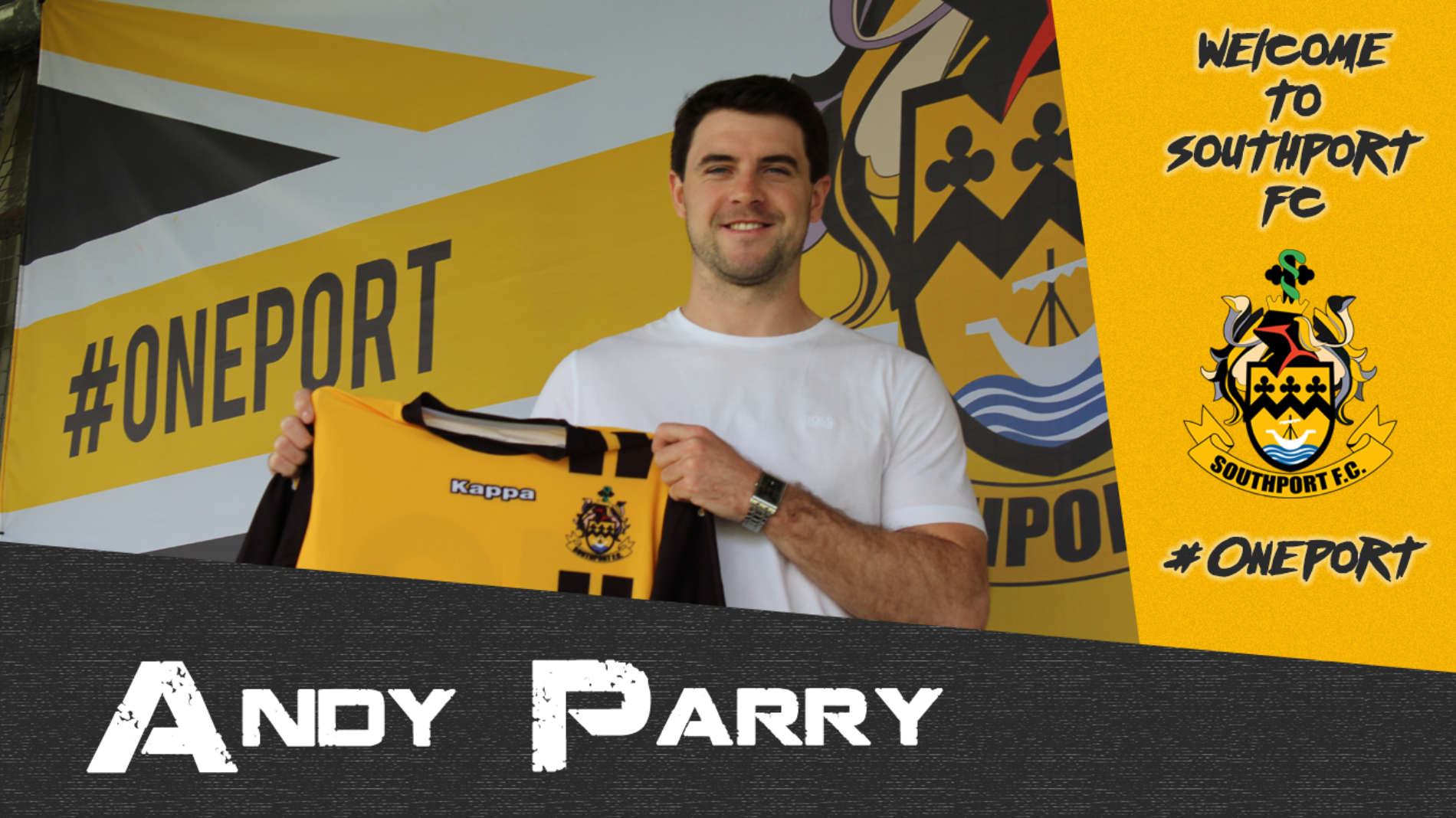 TRANSFERS | Andy Parry Re-Joins Southport FC