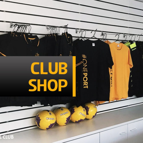 INFO | Club Shop & Ticket Update
