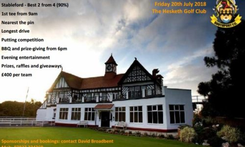 Southport FC Golf Day