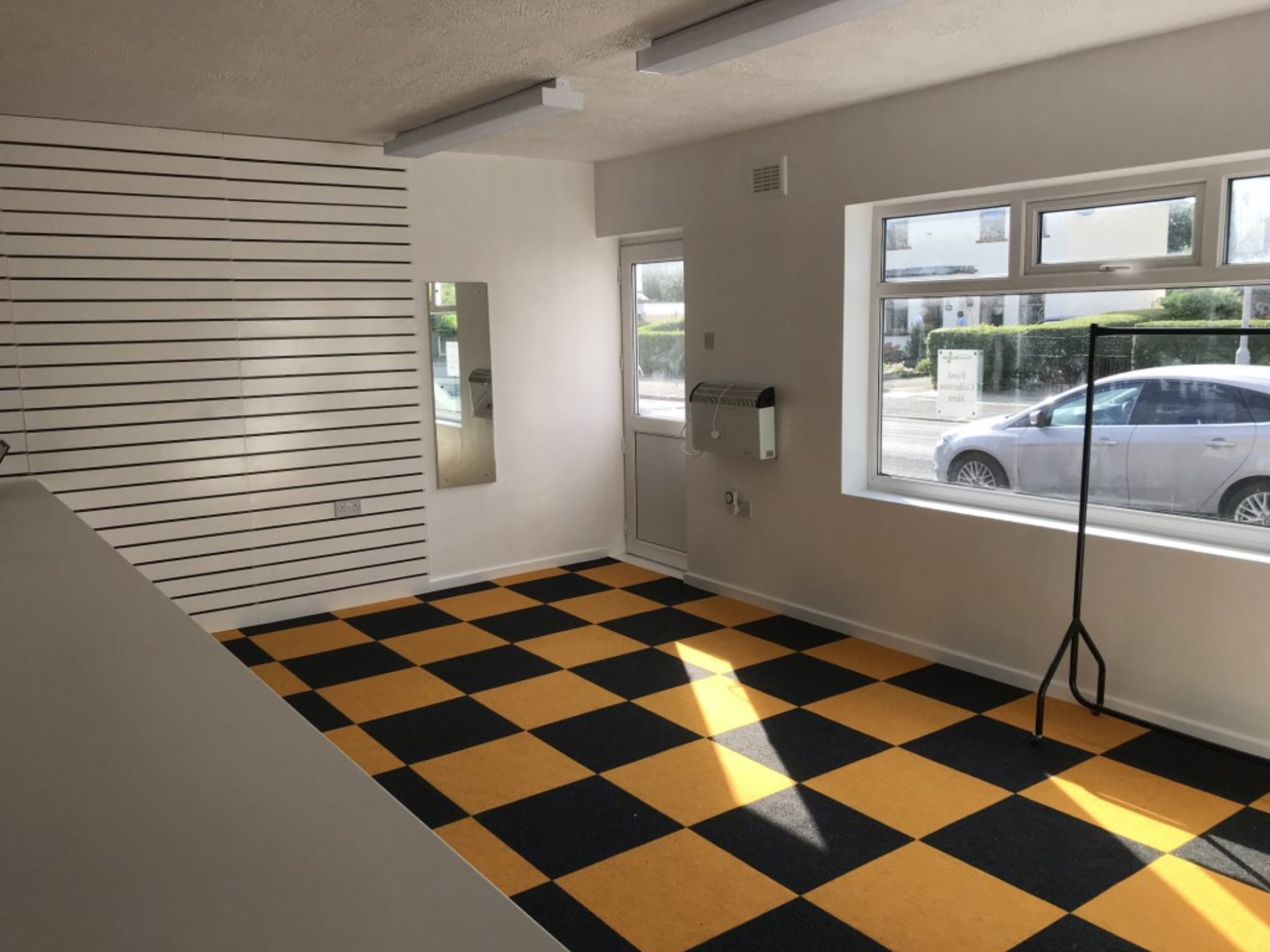 Club Shop Flooring Goes Down