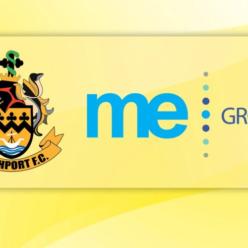 ME Group Confirmed As New Front Of Shirt Sponsor