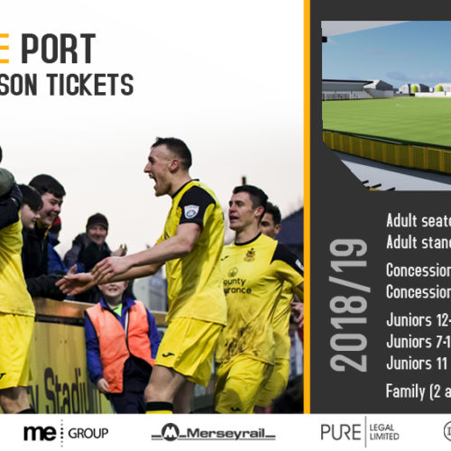 Season Ticket Update And Competition