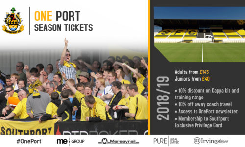 Season Tickets 2018/19 – Don't Miss Out!