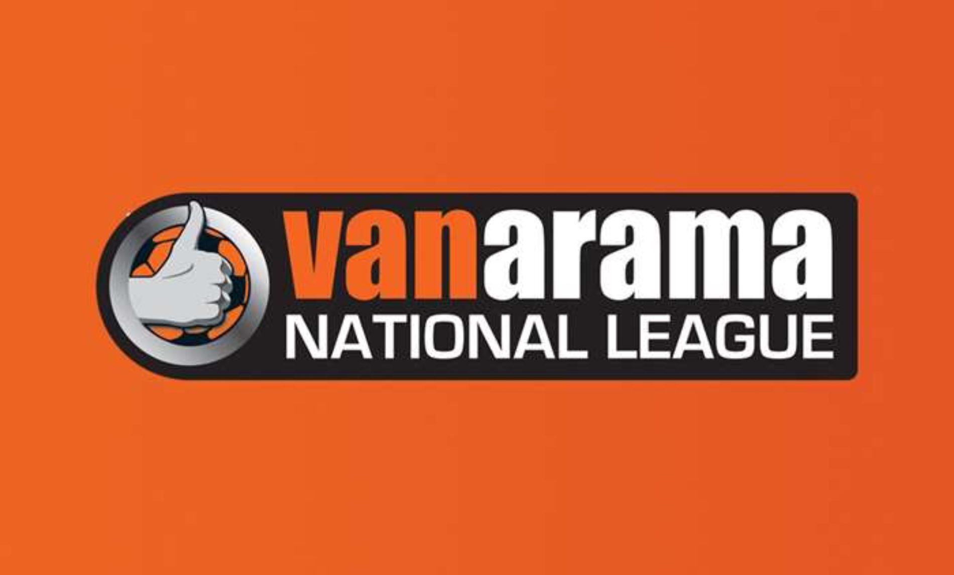 Vanarama Renews Its Title Sponsorship Of The National League