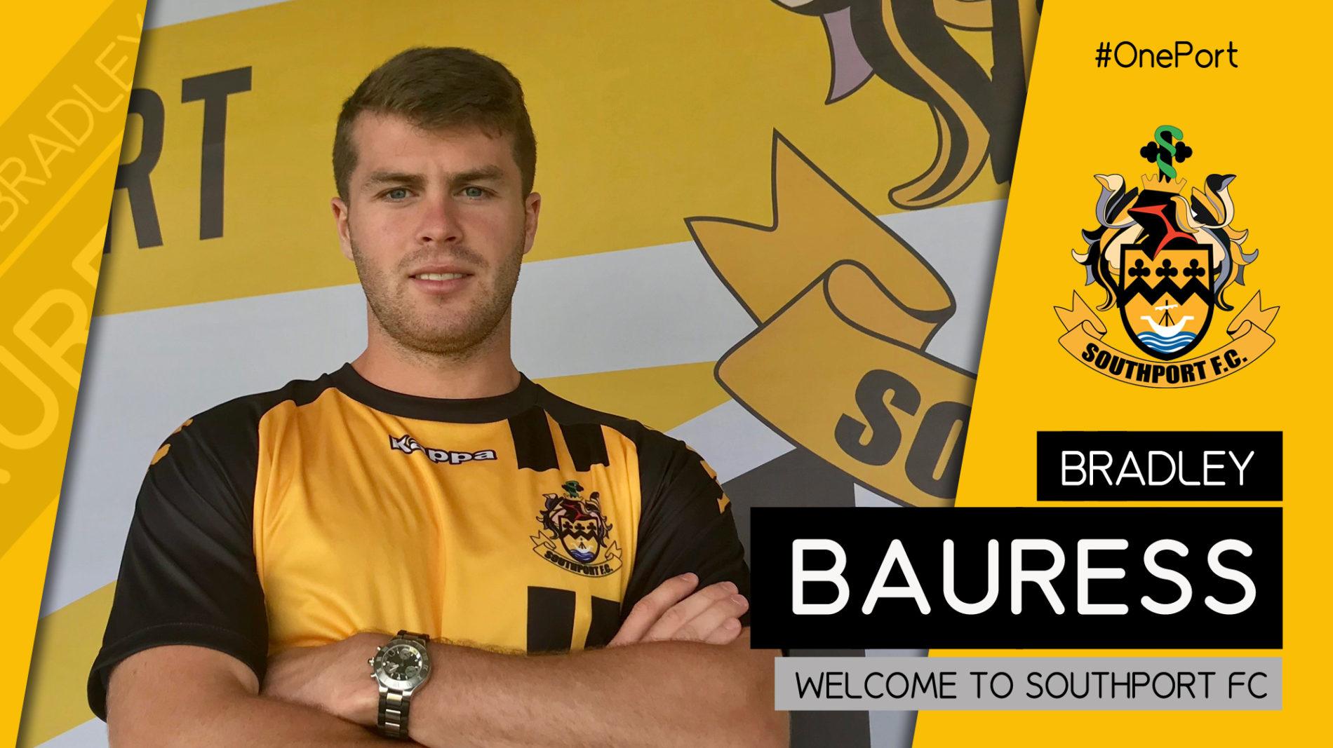 SIGNING | Bradley Bauress Joins The Port